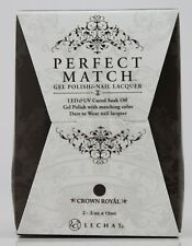 LeChat Perfect Match CROWN ROYAL #75 Gel Polish & Nail Lacquer PMS75