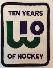 """Hartford Whalers NHL Logo Patch Iron On / Sew On 3.25""""x4.25"""" Inch"""