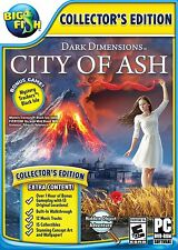 Dark Dimensions City of Ash PC Games Window 10 8 7 XP Computer hidden object NEW