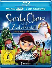Santa Claus und der Zauberkristall - 3D Blu-ray Disc (+ 2D Version) NEU + OVP!