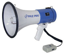 New Professional Megaphone Bull Horn +Siren & Mic Great for Occupy Wall Street
