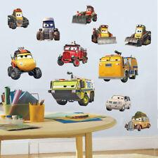 11pcs Disney Fire & Rescue Cars Boy Wall Sticker Kid Decal Art Nursery Decor DIY