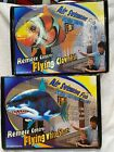Air Swimming Remote Control Flying White Shark & Clownfish