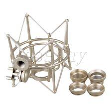 Silver Metal Large Size Cylinder Spider ShockMount Holder for Newman U87