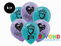 Disney Descendants 2 Printed Latex Balloons Party Decoration Supplies
