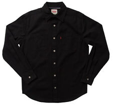 LEVIS LONG SLEEVE SHIRT Mens Denim or Twill Workshirt Levi's in Classic or Snap
