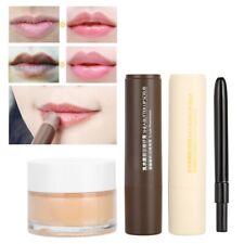 3Pcs Lip Skin Care Exfoliator Clear Treatment Nourish Scrub Treat Comestics Set