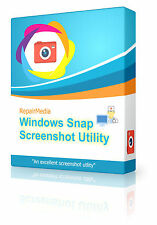 Windows Snap Screenshot Image Save Picture Software Screen Capture Utility DVD