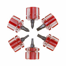 Mini Stubby Screwdriver Set CR-V Constructed   6 PIECE
