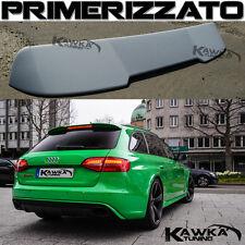 Audi A4 B8 8K Avant RS4 Posteriore Tetto Alettone Spoiler ~PRIMERIZZATO~