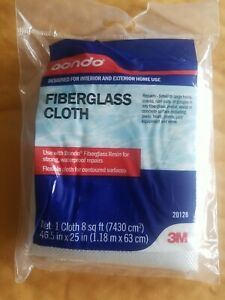 3M White Fiberglass Cloth Mat pattern provides reinforcement