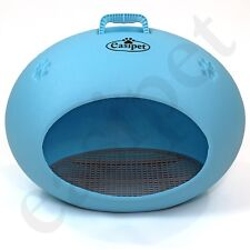 Plastic Cat House Dog Kennel Pet Weatherproof Indoor Outdoor Animal Shelter