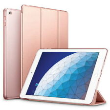 Rose Gold Case iPad Air 2 Stand protector Transparent Back Slim Lightweight