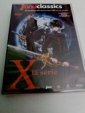 """DVD """"X LA SERIE"""" SERIE COMPLETA 24 CAPITULOS + OVA CLAMP 5DVD"""
