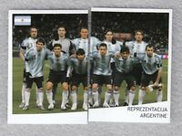 Football sticker LIONEL MESSI Argentina team FIFA WC South Africa 2010 As sport