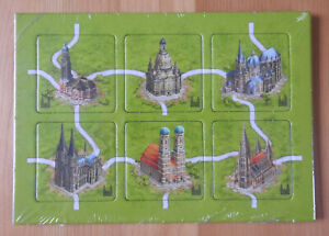 Carcassonne - German Cathedrals | Mini Expansion | New | English Rules