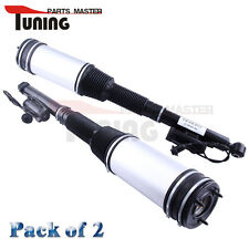 Set of 2 Rear Air Suspension Absorber Shocks Struts for Mercedes S Class W220