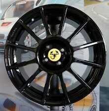 A set of 4 wheels 7,5jx17 Fiat 500 ABARTH, ESSEESSE, 595, 695 competizione (BG)
