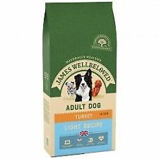 JAMES WELLBELOVED Adult Dog Turkey & Rice Light - 12.5k - 432377