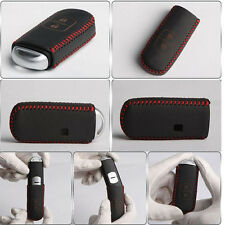 Leather Car Remote Smart Key Case Cover For Mazda 3 Axela 6 ATENZA Red Line New