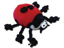 BugTug Ladybird Rope Toy for Dogs - 16cm Strong Rope Toy for Dogs