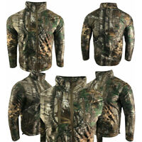 Mens Hunting Jacket Mossy Oak Brush Quilted Fishing Work Outdoor San 2000 Medium