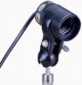 Portaflash Adjustable Studio Screw On Stand Slave Flash Bulb Holder.