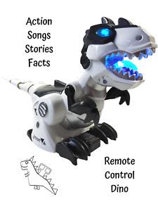 T Rex Dinosaur Robot RC Dino Bot Kids Toy Tyrannosaurus Rex Remote Control Fun
