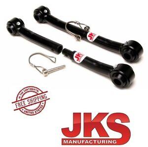 """JKS Front Quick Sway Bar Disconnect Set fits 0""""- 2"""" Lift 76-86 Jeep CJ5 CJ7 CJ8"""