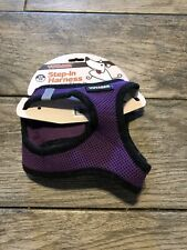 NEW Voyager Step In Adjustable Harness Dog Harness All Weather Mesh Purple Sz XS