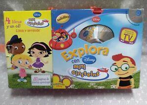Playhouse Disney Little Einsteins Book & CD Set Spanish Edition