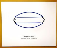 "Ian Hamilton Finlay ""Catameringue"" 1970 17""x14"" print collabtn. w/ Peter Grant"
