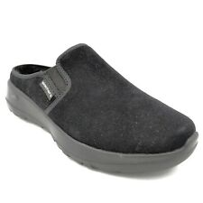 Skechers On The Go Joy Womens Snuggly Lined Clogs US Size 9W Black New