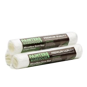 Painters Warehouse Microfibre 5mm Nap Door Roller x 3