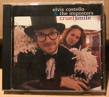 "VERY RARE SIGNED/AUTOGRAPHED ""Cruel Smile"" CD by ELVIS COSTELLO (2002)"