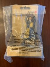 Schleich Two Handed Sword FOOT SOLDIER Lion Coat of Arms Figurine knight #70051