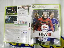XBOX360 GAME FIFA 10 (ORIGINAL USED)