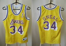 BOYS Los Angeles Lakers #34 O'Neal Sz L Champion jersey shirt Basketball maillot