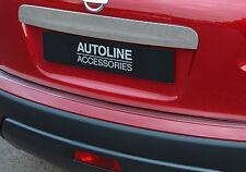Cromada Puerta Trasera Manija De Portón Trasero Arranque agarrar Trim Cubierta Para Nissan Qashqai