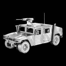 Fascinations Metal Earth 3d ICONX Laser Cut Model Humvee.