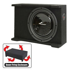 "Audiopipe APSB12BDF Single 12"" Shallow Downfire Sealed Enclosure With Sub"