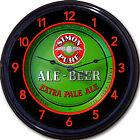 "Simon Pure Beer Tray Wall Clock Buffalo NY Lager Ale Brew Man Cave New 10"""