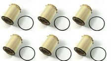 6 NEW DIESEL HD FUEL FILTERS 2013-2016 FOR DODGE RAM 6.7 68157291AA