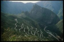 142092 Switch Back Roads Lead To The Lost City Of Machu Picchu A4 Photo Print