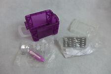 Tupperware Mini Grater & Ice Cream Scoop Magnet & Mini Storage Box Lot Of 2