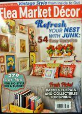 FLEA MARKET DECOR SPRING 2017  garden living country  journal cottage style