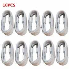 10x USB Data Sync Charger Cable Cord for iphone 5/5s 6/6Plus 6s/7 7Plus/ipad