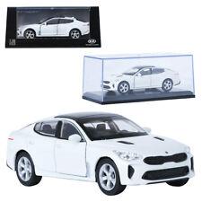 Pino 1:38 KIA Stinger Snow White Display Mini Car Miniature Car
