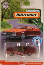 MATCHBOX Moving Parts '83 Buick Riviera Convertible, 2019 issue (NEW in BLISTER)