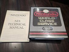 Nintendo World Class Service Binders NES + SNES Technical Manuals